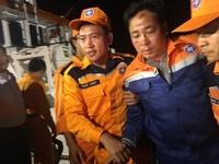 Họp bàn phương án tìm kiếm thuyền viên tàu Hải Thành 26 gặp nạn trên biển