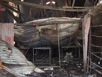 Cháy xưởng sản xuất bánh kẹo: Ngôi nhà không có lối thoát hiểm