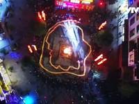 Rực rỡ điệu múa rồng lửa ở Trung Quốc