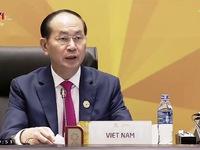 VIDEO: Chủ tịch nước Trần Đại Quang phát biểu khai mạc Hội nghị các nhà lãnh đạo kinh tế APEC