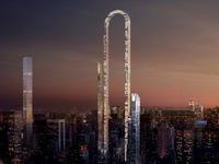 Tòa nhà chữ U Big Bend phá bỏ mọi kỷ lục thế giới về chiều cao