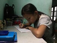 Nghị lực phi thường của cô bé học sinh giỏi mồ côi mẹ, cha liệt giường