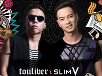 Hoàng Touliver - SlimV lần đầu tiên đứng chung sân khấu lớn