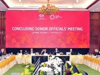 Kết thúc ngày làm việc Thứ nhất Hội nghị tổng kết 1 số quan chức đẳng cấp APEC