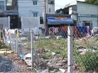 TP.HCM: Đất để xây công viên bị xâm chiếm trắng trợn