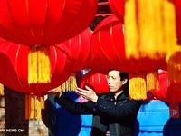 Lưu giữ nghề làm đèn lồng truyền thống tại Trung Quốc