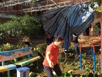 Ngành giáo dục Khánh Hòa nỗ lực để học sinh đến trường sau bão số 12