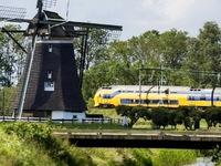 Hà Lan: 100#phantram tàu điện chạy hoàn toàn bằng năng lượng gió