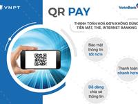 Áp dụng thanh toán hoá đơn di động bằng QR code