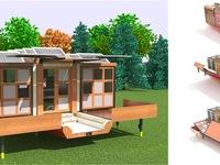 'Choáng' với những thiết kế nhà di động có thể dịch chuyển muôn nơi