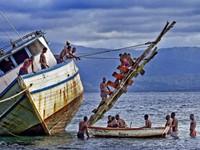 Chìm tàu chở người di cư ngoài khơi Haiti, hơn 40 người mất tích