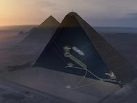 Phát hiện căn hầm khổng lồ bí ẩn trong lòng kim tự tháp Ai Cập