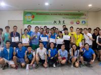 Sinh viên Việt Nam dự Giải bóng bàn quốc tế Sejong 2017