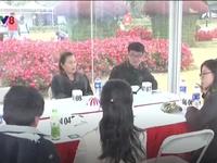 Trung Quốc: Giới trẻ tìm kiếm một nửa nhờ 'hẹn hò giấu mặt'