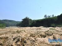Phát hiện hàng chục vụ khai thác khoáng sản trái phép ở Quảng Ngãi