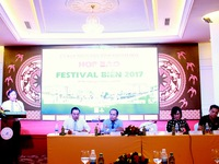 Tổ chức họp báo Festival Biển Nha Trang 2017