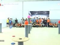 Không khí chuẩn bị cho Robocon 2017 tại Đại học Lạc Hồng