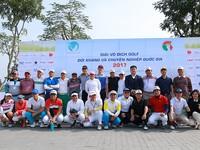 Khai mạc giải Golf đối kháng và chuyên nghiệp quốc gia 2017