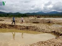 Kon Tum ra công điện xử lý vi phạm khai thác cát sỏi