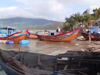 Ngư dân Khánh Hòa gặp nhiều khó khăn sau bão số 12