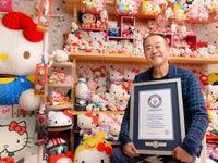 Cựu cảnh sát Nhật Bản với bộ sưu tập Hello Kitty lớn nhất thế giới