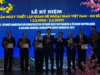 Việt Nam - Cộng hòa Czech kỷ niệm 67 năm thiết lập quan hệ ngoại giao