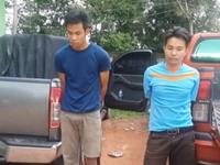 Hà Tĩnh: Bắt 2 đối tượng người Lào, thu giữ 1 tấn cần sa