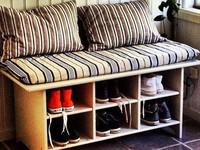 Ý tưởng thiết kế giá giày vừa gọn vừa đẹp trong nhà