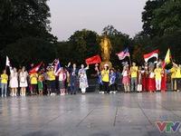Rộn ràng lễ bế mạc Liên hoan thiếu nhi ASEAN+ 2017