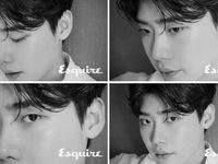 Lee Jong Suk lạ lẫm với loạt ảnh đa sắc thái