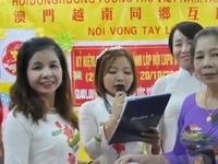 Cộng đồng người Việt tại Macau ủng hộ đồng bào lũ lụt