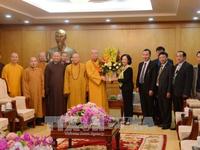Đảng, Nhà nước luôn trân trọng những đóng góp của Giáo hội Phật giáo Việt Nam