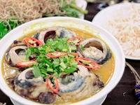 Độc đáo ẩm thực cá ngừ đại dương