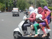 Hàng chục người tử vong do nắng nóng tại Ấn Độ