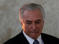Tổng thống Brazil Michel Temer bị cáo buộc tham nhũng