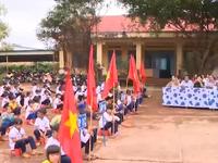 Học sinh vùng biên giới nô nức ngày khai giảng