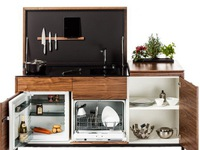 Những gian bếp 'đóng hộp' hiện đại bà nội trợ nào cũng ước ao