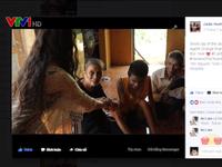 Cô gái trẻ người Pháp gốc Việt chia sẻ nỗi đau với nạn nhân da cam