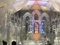 Nhà thờ được xây dựng bằng 90 tấn băng