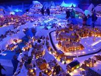 Khám phá thành phố bánh quy Giáng sinh lớn nhất thế giới
