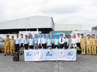 Nhật Bản viện trợ 105 thiết bị lọc nước cho người dân vùng lũ sau bão số 12