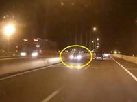 Báo động tình trạng ô tô chạy ngược chiều trên cao tốc Long Thành
