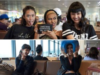 """Top 5 Asia""""s Next Top Model nhắng nhít và cực đáng yêu ở hậu trường"""