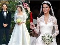 Bó hoa cưới đơn giản nhưng cực đắt giá trong đám cưới Song Joong Ki – Song Hye Kyo