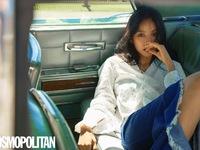 Lee Hyori cực sexy trên bìa tạp chí