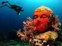 Bí mật phía sau ngôi chùa '2000 năm tuổi' nằm sâu trong lòng đại dương