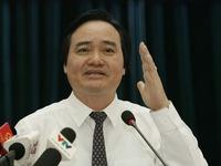 Bộ trưởng Phùng Xuân Nhạ nhận trách nhiệm về sai phạm của kỳ thi THPT Quốc gia 2018
