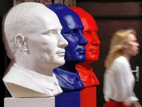 Triển lãm về Tổng thống Putin tại Moscow