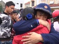 700 thanh niên Quảng Bình nô nức lên đường nhập ngũ