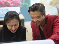 GLTT với diễn viên Lâm Vissay (Vạn) của phim Thương nhớ ở ai